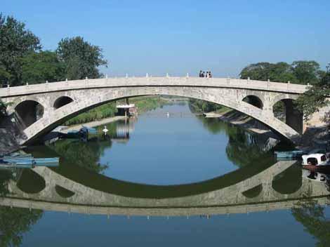 Stone Arch Bridge Design In the suspension design